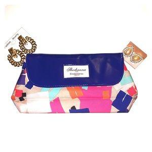 🌟Shoshanna Elizabeth Arden cosmetic bag/clutch